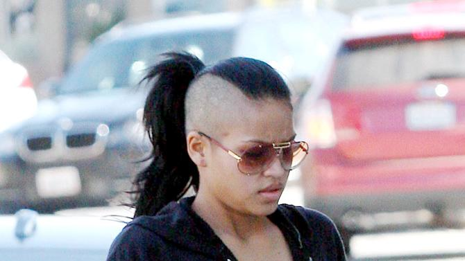 Cassie Shaved Head