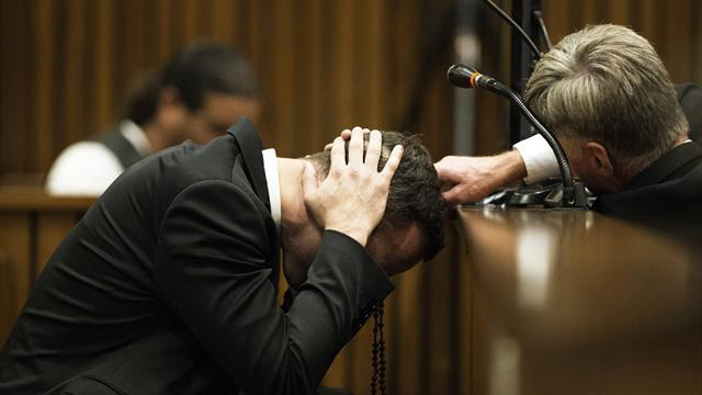 Pistorius case - 'I thought he was going to hurt himself', witness tells Pistorius jury
