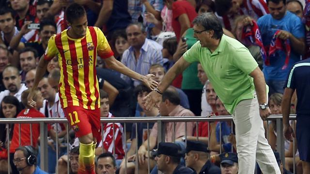 Liga - Martino prizes evolution, not revolution, at Barcelona