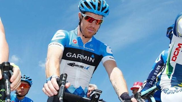 Garmin Sharp's Tyler Farrar in 2012 (Imago)