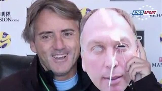 Premier League - Masked Mancini: City don't want Suarez