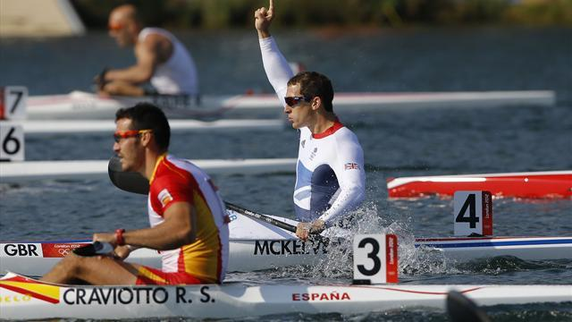 McKeever win Olympic K1 200m gold