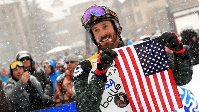 Snowboard - Wescott claims victory in Telluride