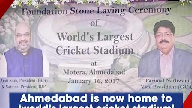 Ahmedabad is now home to 'world's largest cricket stadium'