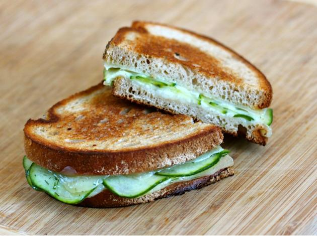 Havarti Dill Grilled Cheese