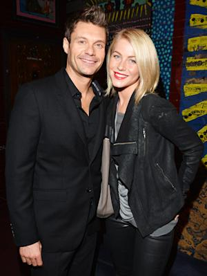 "Ryan Seacrest on Julianne Hough: ""She's So Beautiful...Best Part of Every Day"""