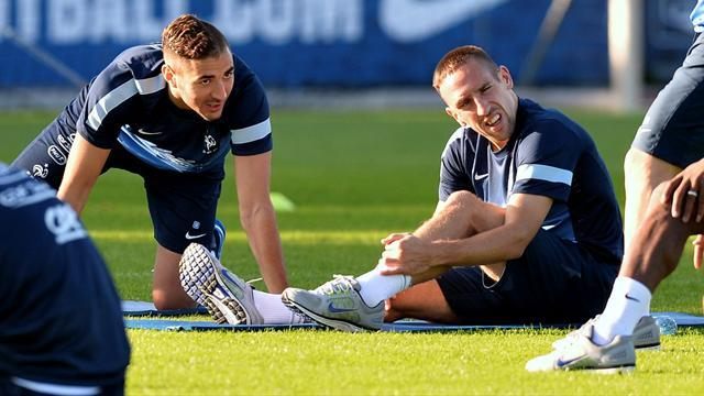 Ligue 1 - France's Ribery doubtful for Belarus game