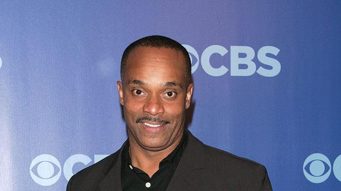 "Rocky Carroll (""NCIS"") attends the 2010 CBS Upfront at The Tent at Lincoln Center on May 19, 2010 in New York City."