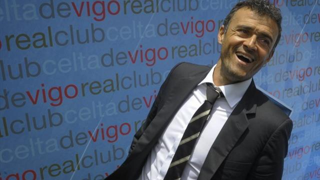 Liga - Factbox: New Barcelona coach Luis Enrique