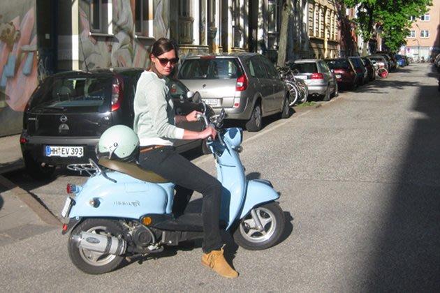 Mit Minimoto können Sie einfach, schnell und schick durch Hamburg fahren (Bild: CCM)