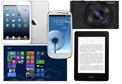 Product of the Year: 9th Pocket-lint Gadget Awards nominees. Pocket-lint Gadget Awards 2012, Features, Amazon, Amazon Kindle Paperwhite, Apple, iPad mini, Samsung, Samsung Galaxy S III, Microsoft, Windows 8, Sony, Sony Cyber-shot RX100, Tablets, Phones, Mobile phones, Cameras, Compact cameras 0
