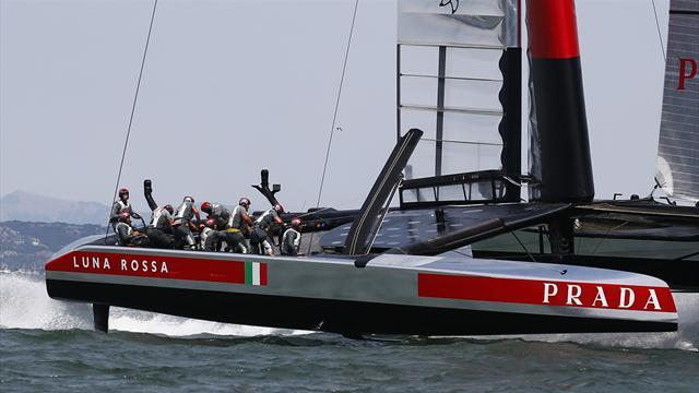 Sailing - Mechanical snafu again mars America's Cup racing