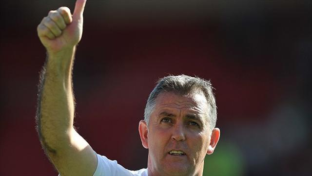 Championship - Coyle calls for perspective