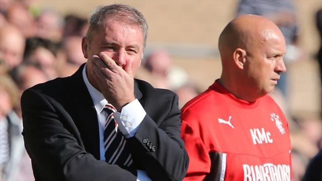 Football - McCoist unhappy with Gers display