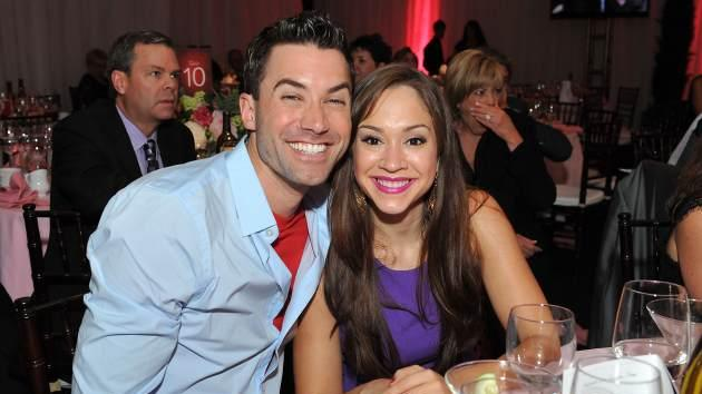 Ace Young and Diana DeGarmo attend Jane Seymour's 3rd annual Open Hearts Foundation celebration at a private residence on April 13, 2013 -- Getty Premium