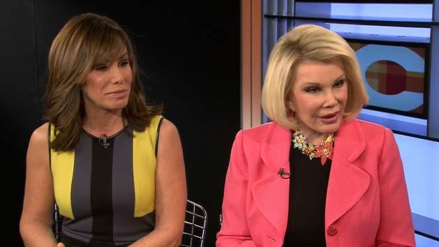 Melissa Rivers and Joan Rivers -- Access Hollywood