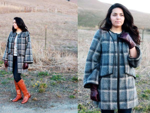 Images via : iDiva.com With winter here, step out in a plaid overcoat. Source: StylePile Related Articles - Trend Alert: Graphic Knits Trend Alert: 10 Ways to Rock Tartan
