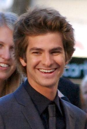 "Actor Andrew Garfield will play Spider-Man in the upcoming film ""The Amazing Spider-Man"""