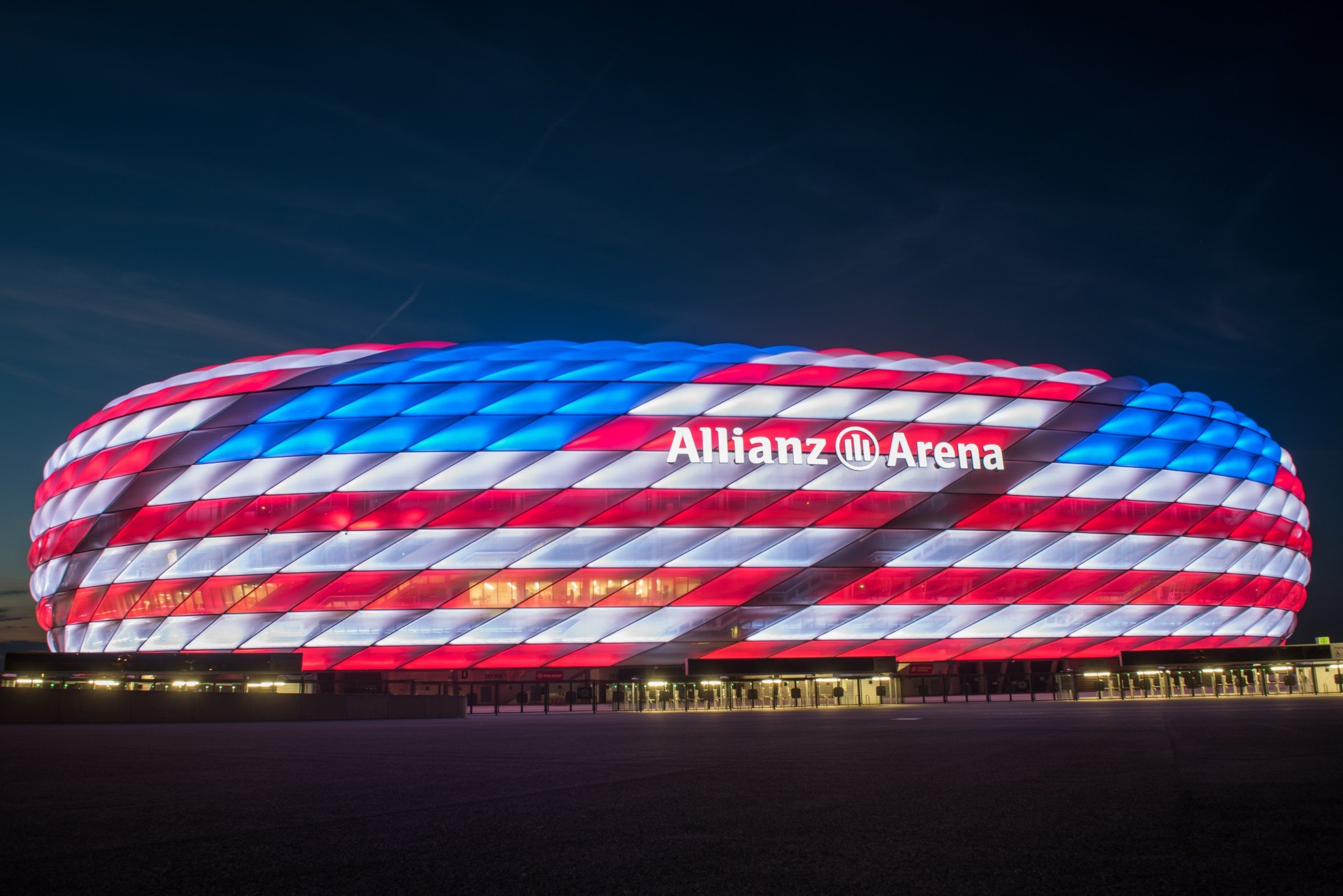 bayern munich celebrated the fourth of july in a very special way yahoo sports. Black Bedroom Furniture Sets. Home Design Ideas
