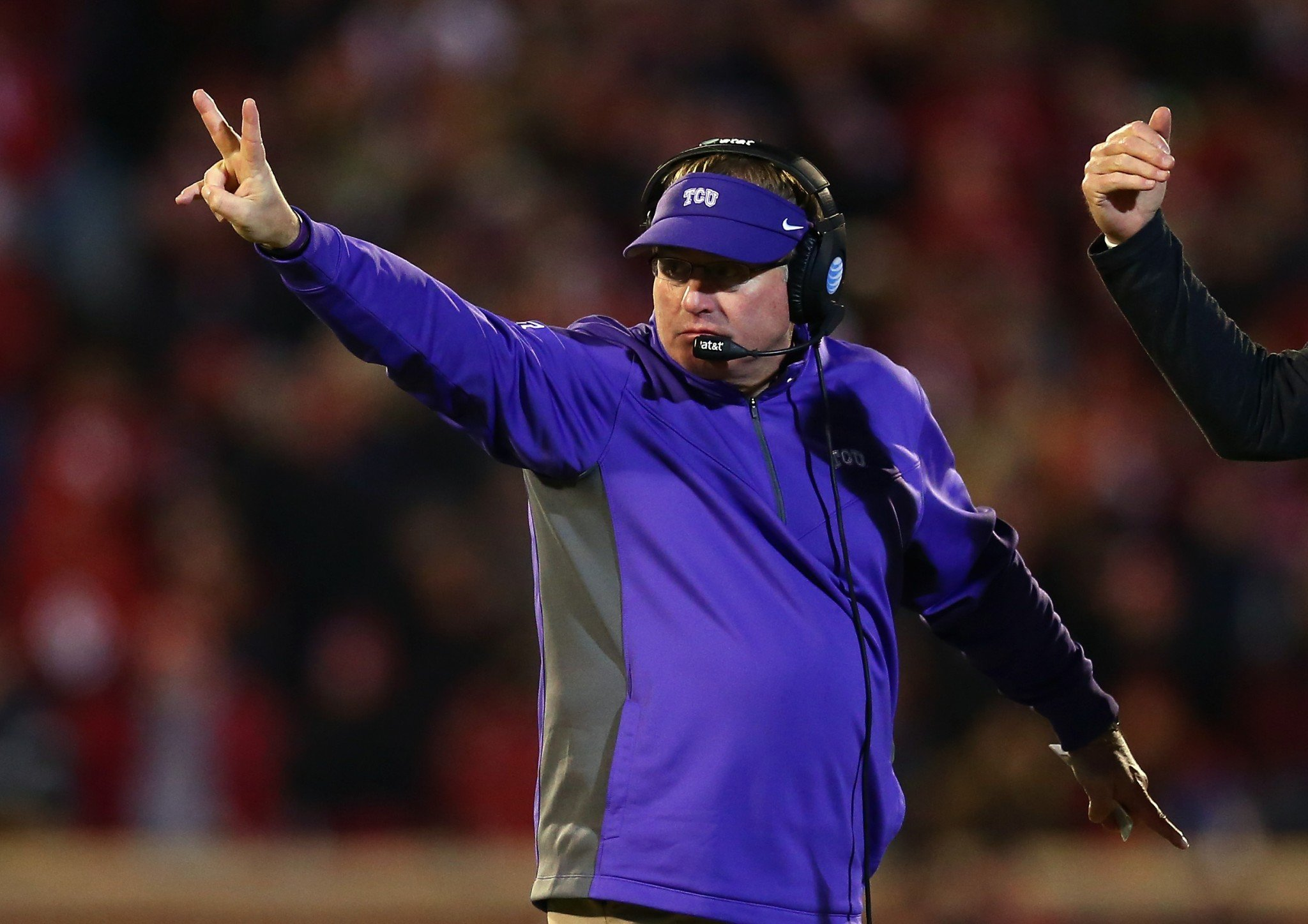 Gary Patterson's team can go to a bowl with one more win in 2016. (Getty)