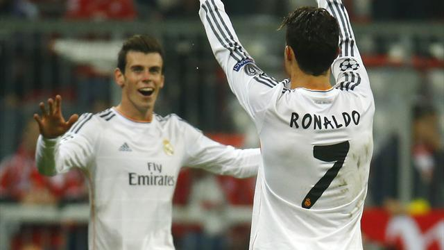 Champions League - Ronaldo breaks record as brilliant Real destroy Bayern to reach final