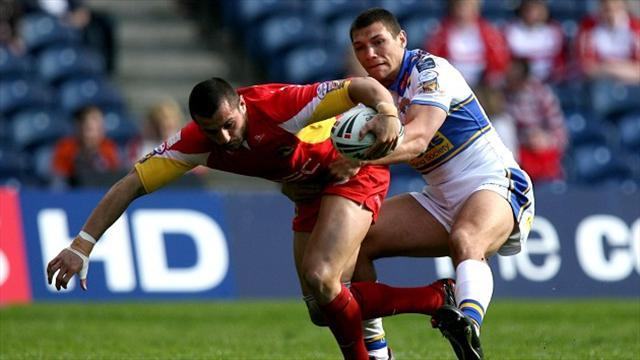 Rugby League - Dragons were too good - Gentle