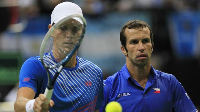 Davis Cup - Berdych, Stepanek to lead Czechs against Serbia