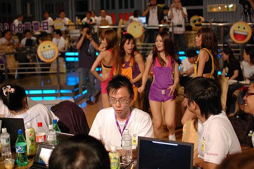 Yahoo! Taiwan Open Hack Day 2008 - Hack Girls