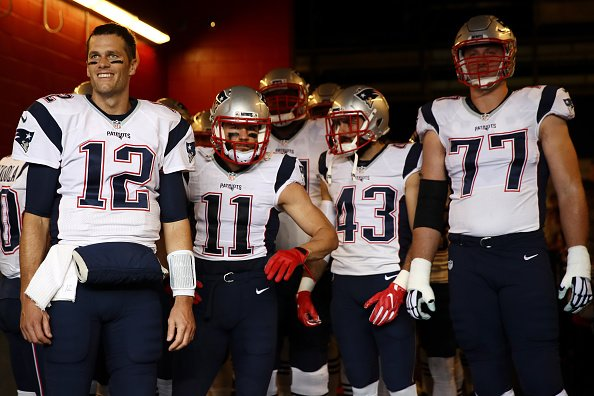Happy to be back: on Sunday, Tom Brady played at San Francisco for the first time in his career. (Getty Images)