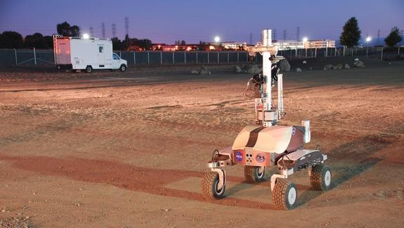 Astronaut In Space Drives Robot on Earth, a First
