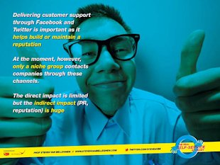 What Role Can Online Customer Service (Webcare) Play in the Self Service Economy? image 9046740173 9571b5fbfa