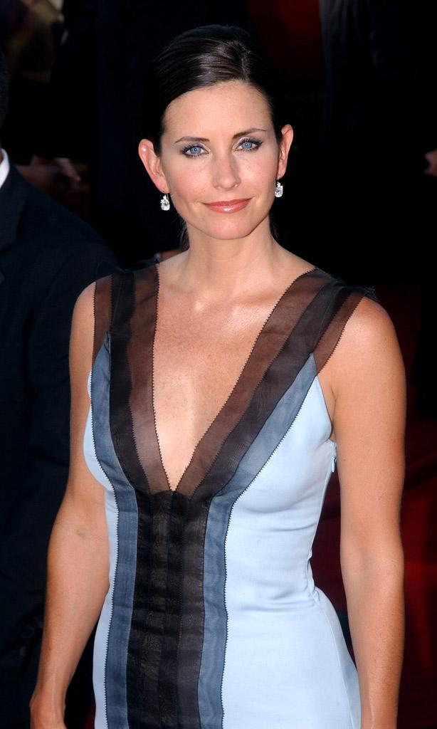 Courteney Cox-Arquette at The 55th Annual Primetime Emmy Awards.