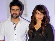 Bipasha Basu and Harman Baweja arrive in tow at Shilpa Shetty's party
