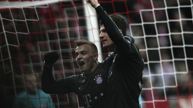Champions League - Ten-man Bayern thrash BATE to top group