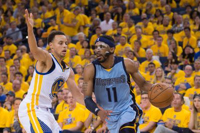 NBA playoffs scores 2015: Mike Conley ruins Stephen Curry's coronation