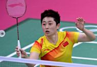 Chinese badminton star Yu Yang, pictured here in July, has denied quitting the sport after being kicked out of the London Olympics and said she just wants to focus on her game, following her winning return to competition