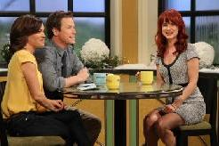 Kit Hoover and Billy Bush chat with Juliette Lewis on Access Hollywood Live on January 5, 2012 -- Access Hollywood