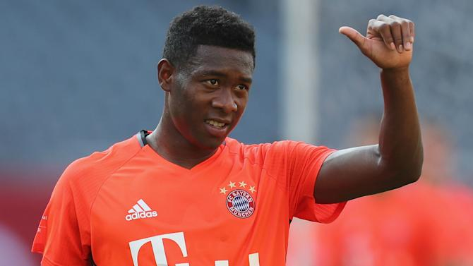 Alaba warns against complacency as Bayern begin Bundesliga defence
