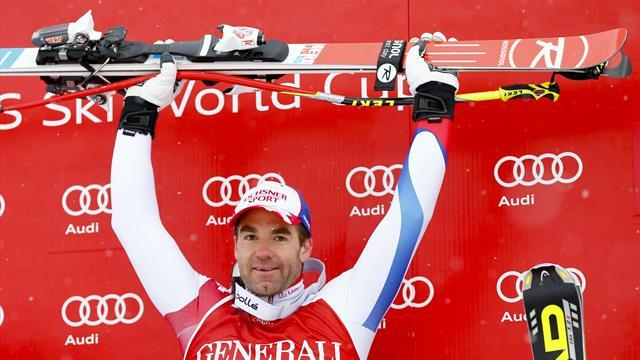 Alpine Skiing - Defago hits form to take Kitzbuehel Super-G win