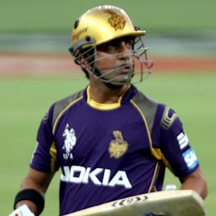 Gambhir a knock away from striking form - KKR coach