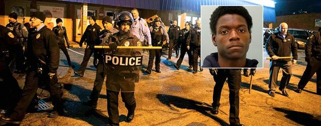 Ferguson protester charged with arson, burglary