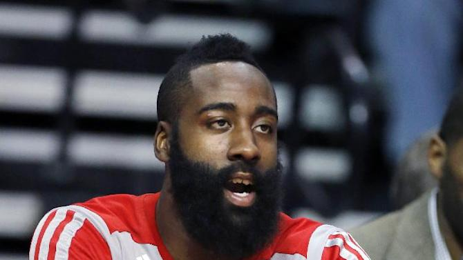Harden out, Lin back for Rockets against Mavs