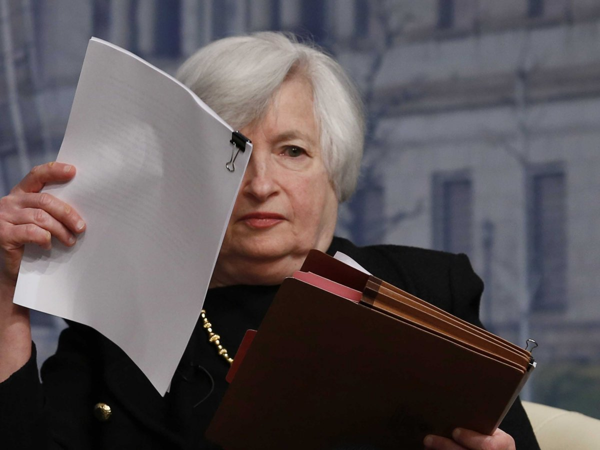 Janet yellen has a big press conference this week last for Chair of the fed game