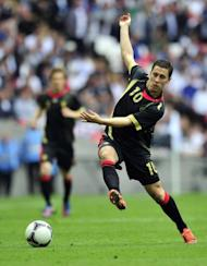 Belgium's Eden Hazard, seen here in action during their International friendly match against England, at Wembley Stadium in London, on June 2. Hazard completed his £32 million transfer from French club Lille on Monday after the 21-year-old had initially suggested he was likely to join either Manchester City or Manchester United ahead of Chelsea