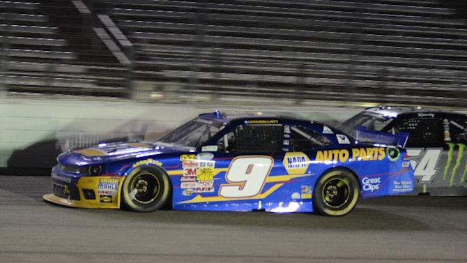 Chase Elliott grabs 1st career Nationwide victory