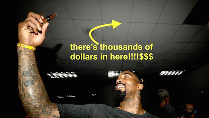 NBA coaches' best motivational tactic is taking players' money and stashing it in a locker room ceiling
