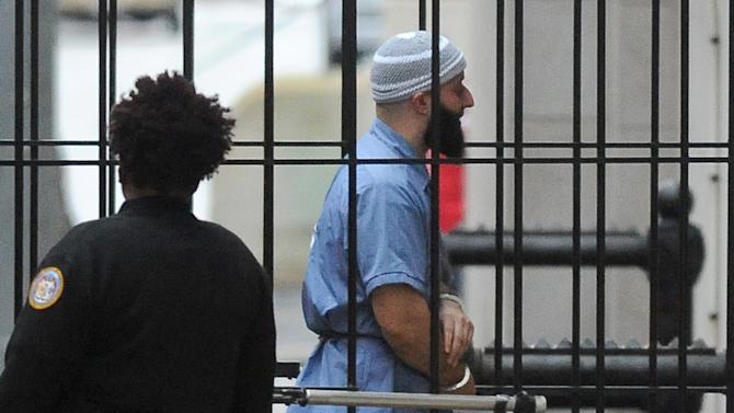 """FILE - In this Feb. 3, 2016 file photo, Adnan Syed enters Courthouse East in Baltimore prior to a hearing in Baltimore.  An alibi witness who was never called, cell phone data that was misrepresented and other legal failures more than justify a new trial for Syed, his defense lawyer argued Tuesday, Feb. 9, 2016 closing an unusual hearing prompted by the popular """"Serial"""" podcast's extensive re-examination of the murder case. (Barbara Haddock Taylor/The Baltimore Sun via AP)  WASHINGTON EXAMINER OUT; MANDATORY CREDIT"""