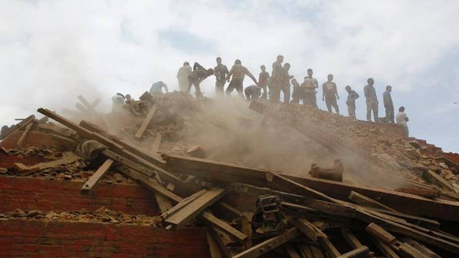 Nepal Earthquake: Crews Race to Pull Survivors From Rubble