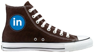 10 Steps To Be A LinkedIn All Star image LinkedIn All Star Chuck Taylors