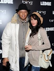 Terrence Howard and Michelle Ghent attend the Bing Bar in Park City, Utah on January 21, 2011 -- Getty Images